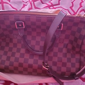 Authentic Speedy bag with strap